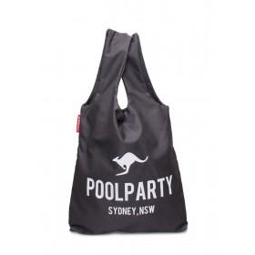 Женская сумка PoolParty Kangaroo Tote Grey