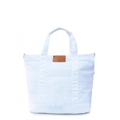 Текстильная сумка PoolParty Mall White