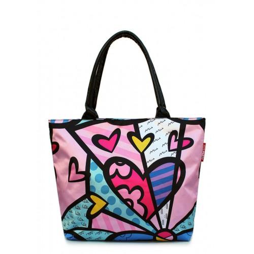 Текстильная сумка PoolParty Blossom Beach Pink