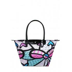 Женская сумка PoolParty Blossom Grey