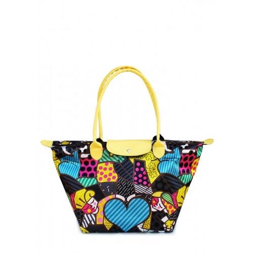 Текстильная сумка PoolParty Blossom Yellow