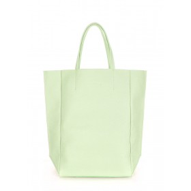 Кожаная сумка PoolParty Big Soho Bag Mint