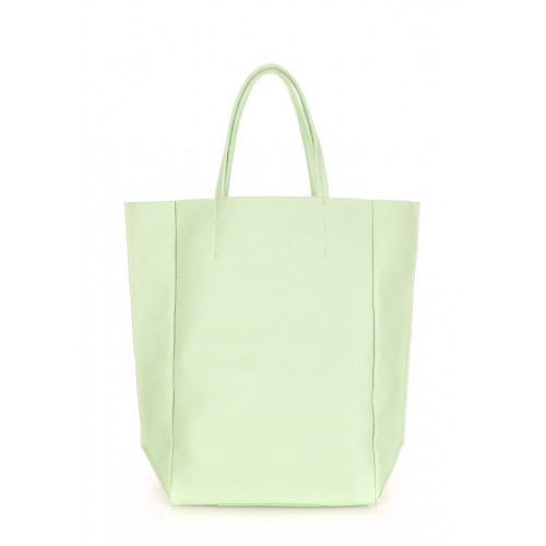 Женская кожаная сумка PoolParty Big Soho Bag Mint