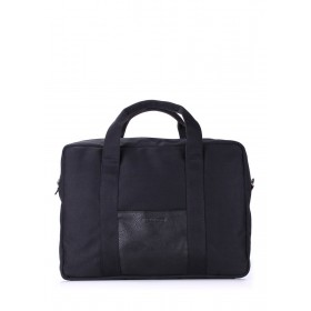 Текстильная сумка PoolParty College Bag Black