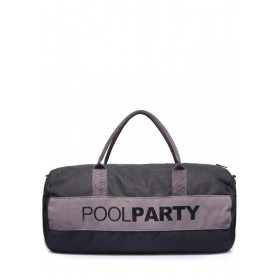 Текстильная сумка PoolParty Sport Grey