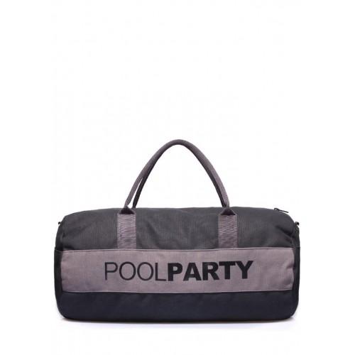 Текстильная сумка PoolParty Sport Grey