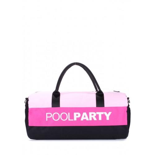 Текстильная сумка PoolParty Sport Pink