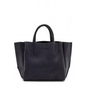 Кожаная сумка PoolParty Soho Bag Black