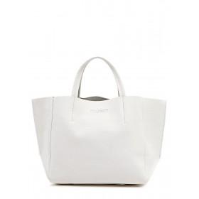Кожаная сумка PoolParty Soho Bag White