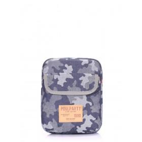 Мужская сумка PoolParty Extreme Camouflage