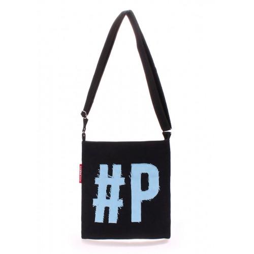 Женская текстильная сумка на плечо Pool Party Detroit Black Blue