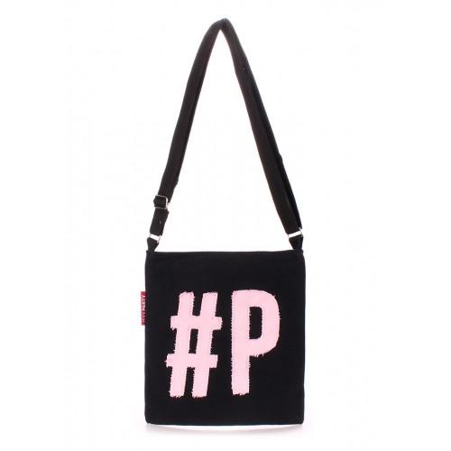 Женская текстильная сумка на плечо Pool Party Detroit Black Rose