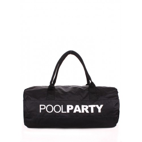 Текстильная сумка PoolParty Sport Oxford Black