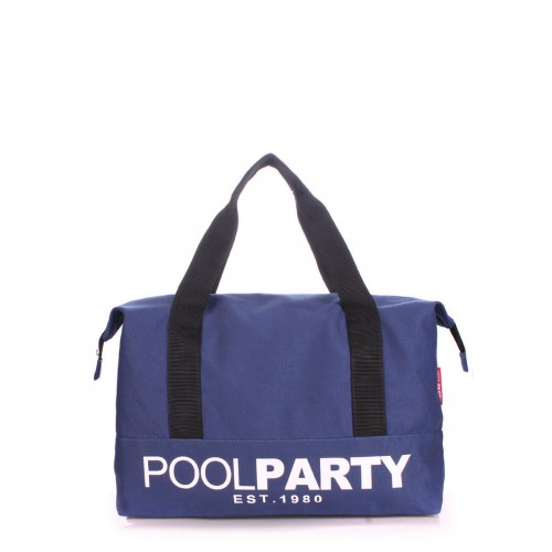 Текстильная сумка PoolParty Original Dark Blue