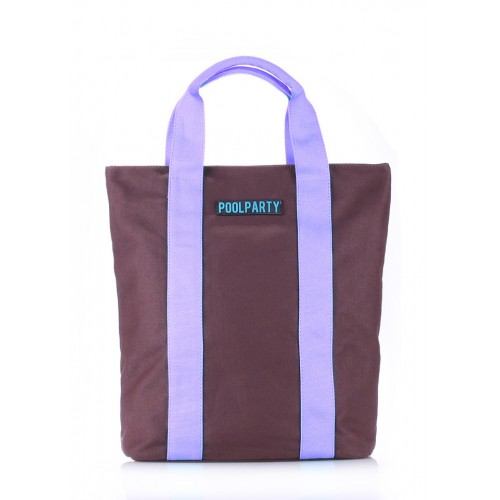 Женская текстильная сумка Pool Party High Brown Lilac