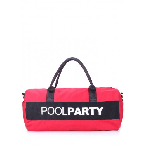 Спортивная сумка PoolParty Sport Red Black