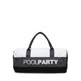 Спортивная сумка PoolParty Sport White Grey Black