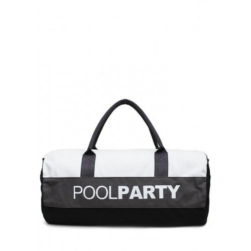 Спортивная сумка PoolParty Sport White Grey Black