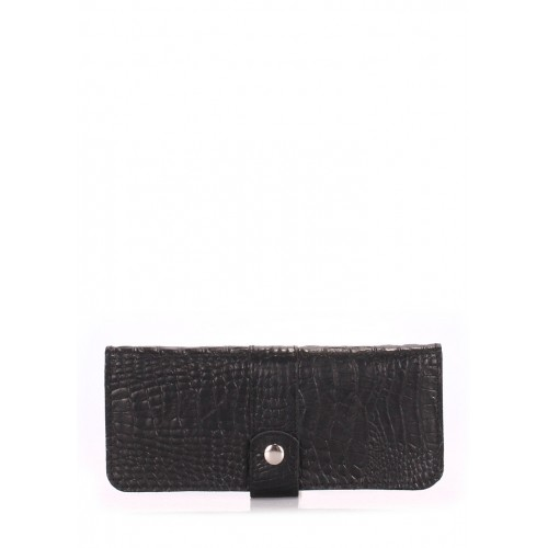 Женский кошелек Pool Party Billfold Croco Black