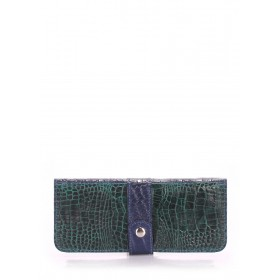Женский кошелек Pool Party Billfold Croco Green Blue