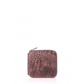 Кошелек Pool Party Mini Wallet Croco Brown