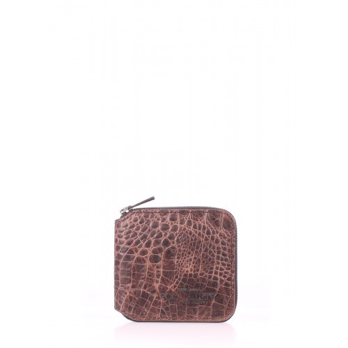 Женский кошелек Pool Party Mini Wallet Croco Brown
