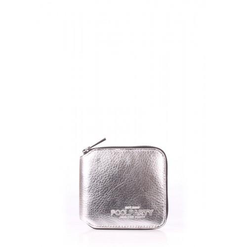 Женский кошелек Pool Party Mini Wallet Silver
