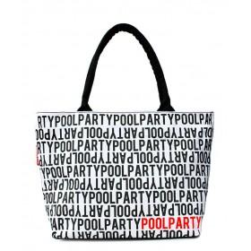 Женская сумка Pool Party Stream White
