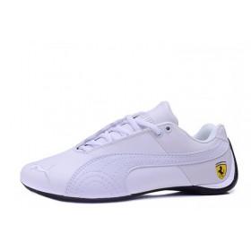 Puma Ferrari Low All White мужские кроссовки