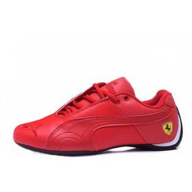 Puma Ferrari Low Red мужские кроссовки