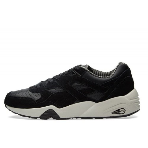 PUMA R698 CITI SERIES Black & Vaporous Grey мужские