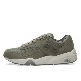 PUMA R698 CITI SERIES Castor Grey & Vaporous Grey мужские кроссовки