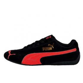 Puma Speed Cat SD Ferrari Black Red мужские кроссовки