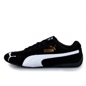 Puma Speed Cat SD Ferrari Black White мужские кроссовки