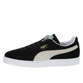Puma Suede Classic Black White мужские кроссовки