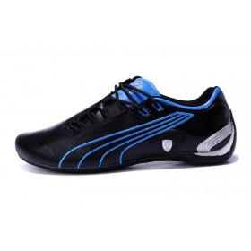 Puma Ferrari Future Cat Black Blue мужские кроссовки