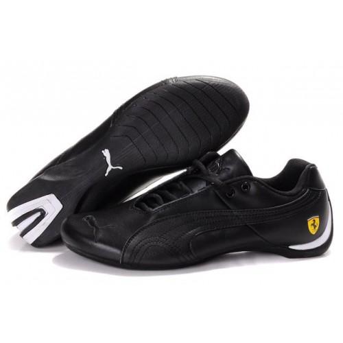 Женские кроссовки Puma Ferrari Low Black