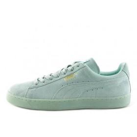 Puma Suede Classic Light Blue женские кроссовки