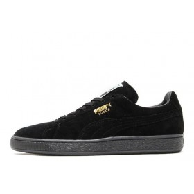 Puma Suede Classic Mono Iced Black женские кроссовки