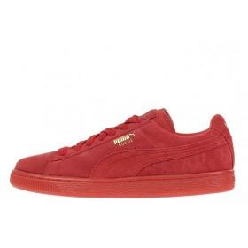 Puma Suede Classic Red женские кроссовки