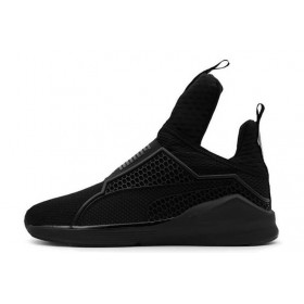 Rihanna x Puma Fenty Trainer Black женские кроссовки