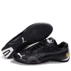 Женские кроссовки Puma Ferrari (Пума Феррари) Black