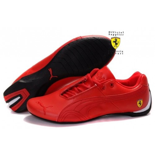 Женские кроссовки Puma Ferrari (Пума Феррари) Red