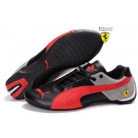 Женские кроссовки Puma Ferrari (Пума Феррари) Black Red