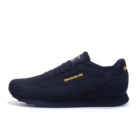 Reebok CL Engineered Mesh Dark Navy Gold мужские кроссовки