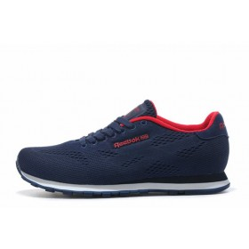 Reebok CL Engineered Mesh Navy Red мужские кроссовки