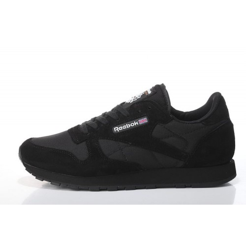 Reebok Classic Suede Black 2 мужские кроссовки