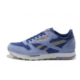 Reebok Classic Suede Blue Navi мужские кроссовки