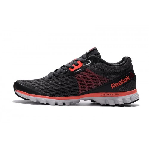 Reebok Sublite Super Duo Black Red мужские кроссовки
