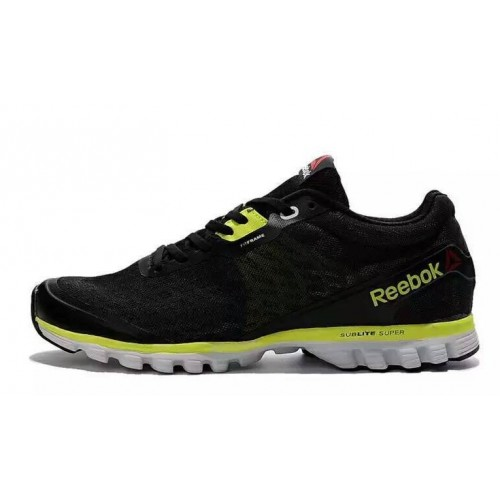Reebok Sublite Hexaffect Black Green мужские кроссовки